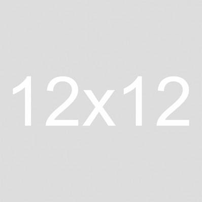 12x12 Burlap Crate Sign | Gather