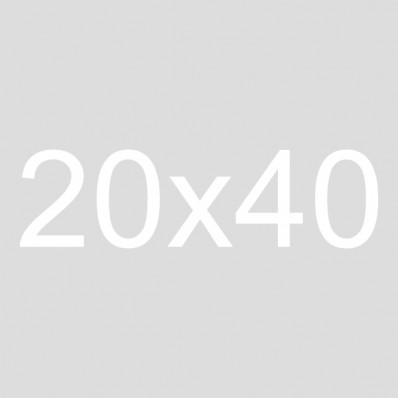 20x40 Framed Burlap Sign | Gather