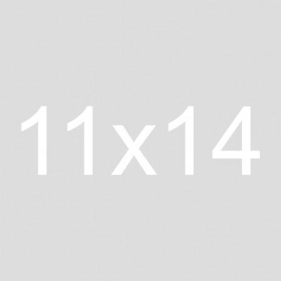 11x14 Burlap Crate Sign | Gather