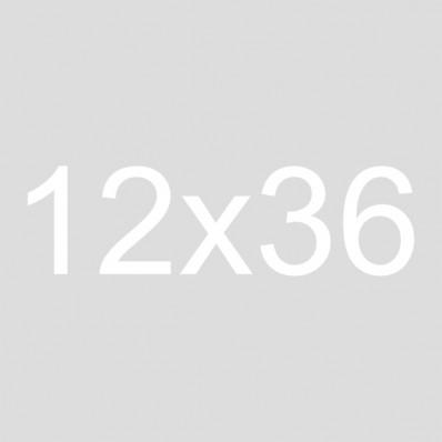 12x36 Framed Burlap Sign | Make yourself at home
