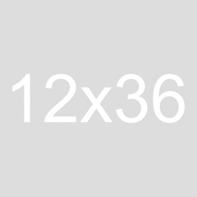 12x36 Framed Burlap Sign | Gather