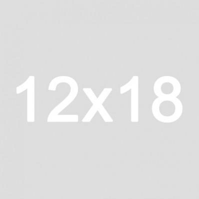 12x18 Burlap Hanging Sign | Gather