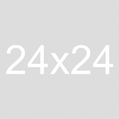 24x24 Framed Burlap Sign | Gather
